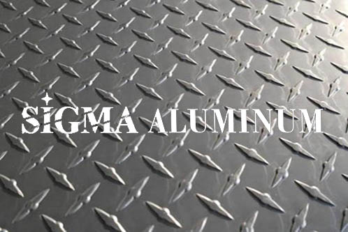 Diamond 6061 Aluminum Plate Dull Mill Finish 4 5mm Thickness Slip