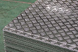 Aluminum Bright Diamond Tread Plate